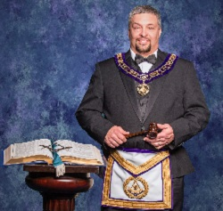 Mark Williams is the 2017-2018 Grand Master