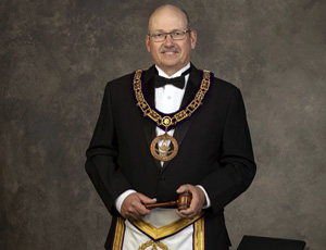 Lowell Domier is the 2019-2020 Grand Master